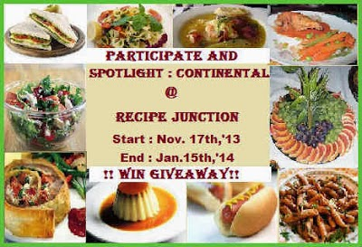 Spotlight : Continental Food 17th Nov-15th Dec