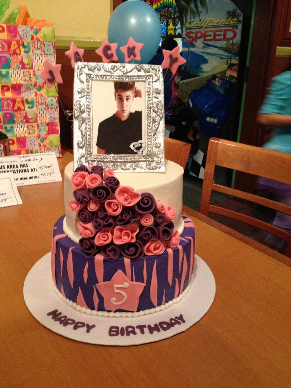 Cake With Photo Frame : Cake Territory: Posting Past Cakes