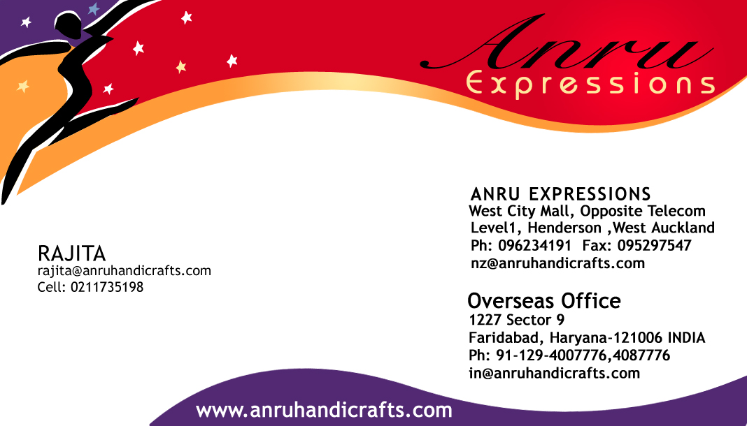 mY paSSioN: VisitinG & BusinesS CardS