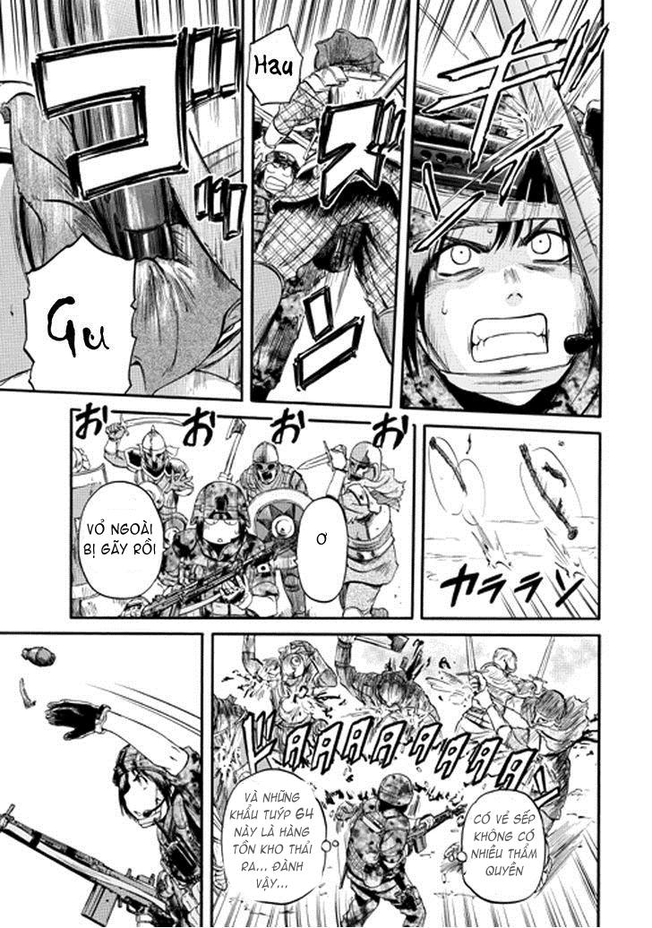 Gate – Jietai Kare no Chi nite, Kaku Tatakeri chap 12 Trang 25 - Mangak.info