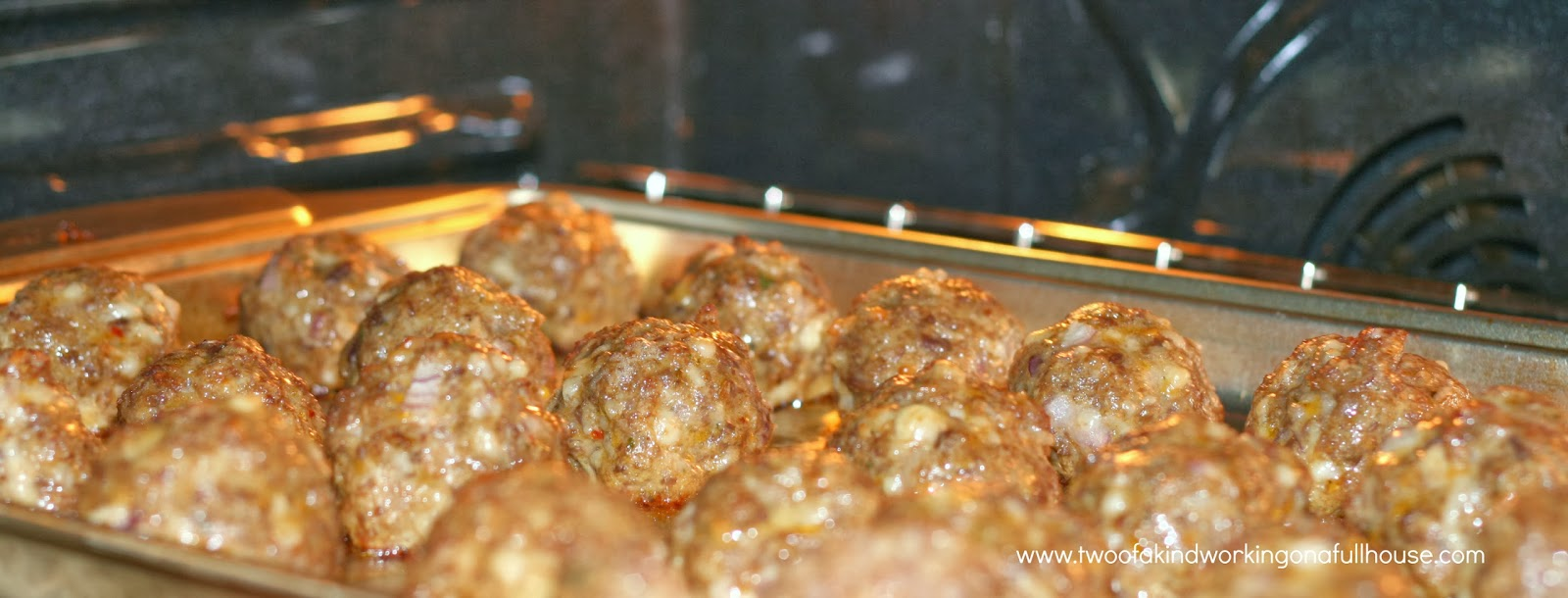 Ultimate Party Meatballs Recipe | Two of a kind, working on a full ...