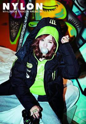 Sunny SNSD - Nylon Magazine December Issue 2013
