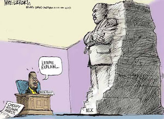 cartoonist+targets+kasim+reed+occupy+atlanta AJC Cartoonist Mike Luckovich Mocks Mayor Kasim Reed Over Occupy Atlanta Protesters Eviction