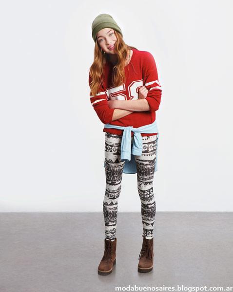 Como quieres que te quiera calzas invierno 2014