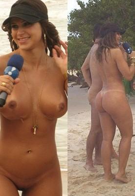 gajas na praia ver mulher nua