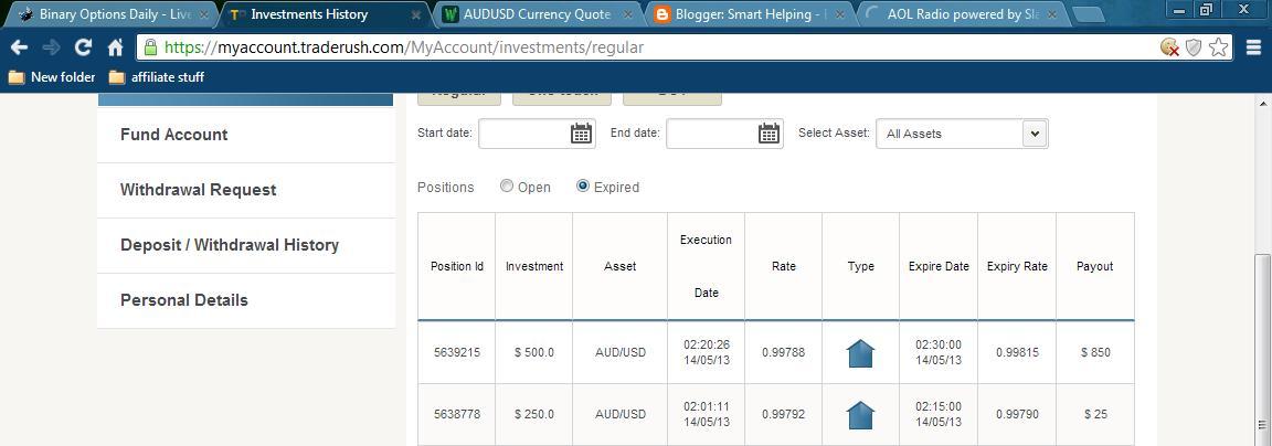 How to stock trade account binary options profitably pdf
