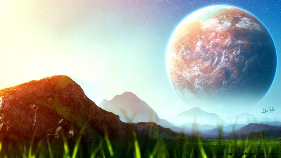 Alien Green Planet by AndrieriStefano on DeviantArt