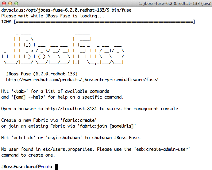 Claus ibsen davsclaus riding the apache camel jboss fuse 62 jboss fuse 62 welcome screen malvernweather Image collections