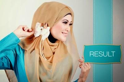 hijab dan jilbab segi empat