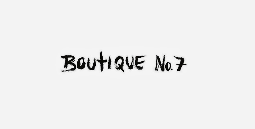 BOUTIQUE NO.7 MOSCOW