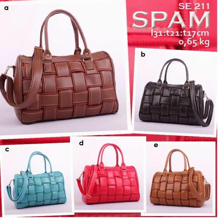 jual online handbag sintetis murah model anyam