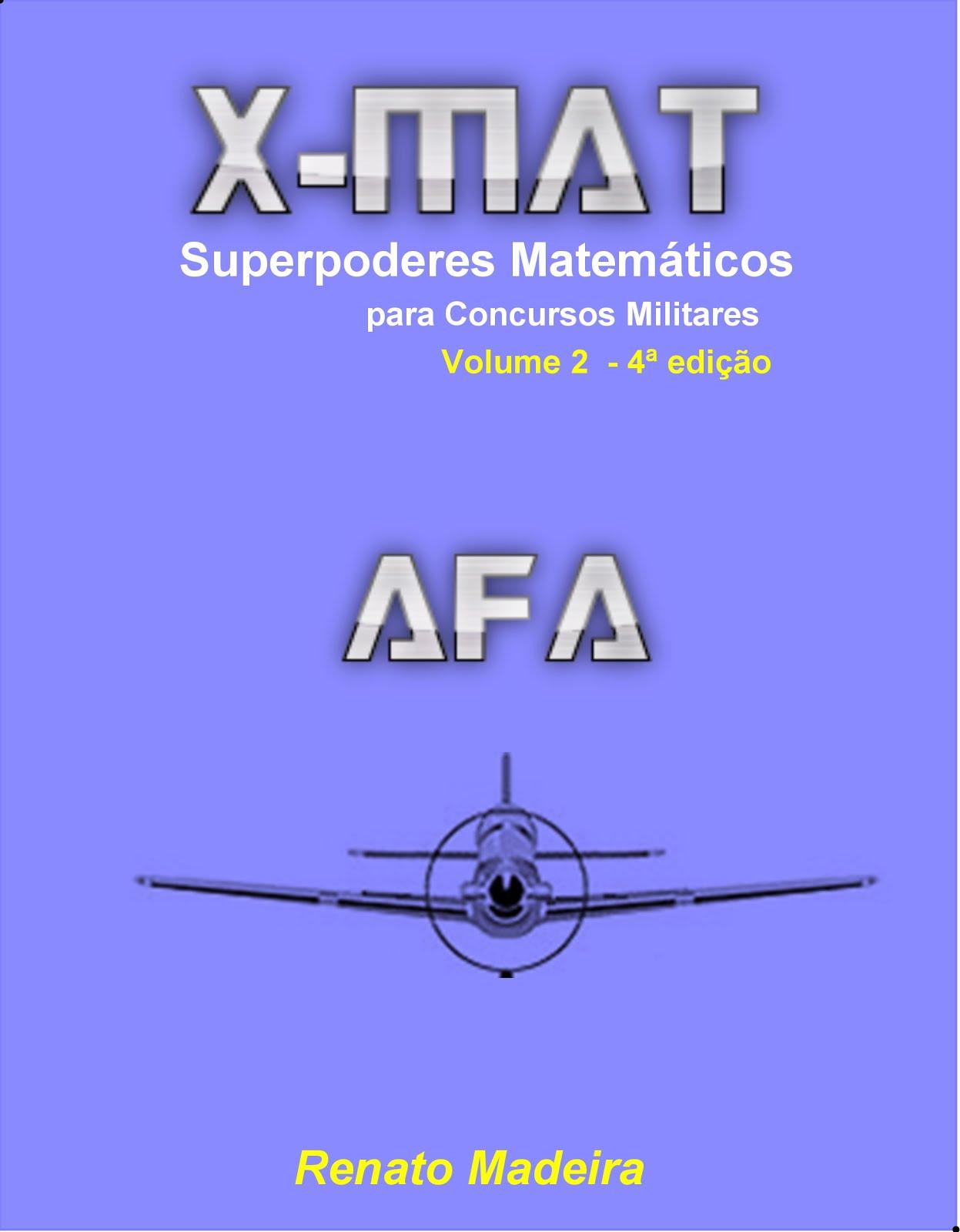Livro X-MAT 2: AFA por R$ 74,99!