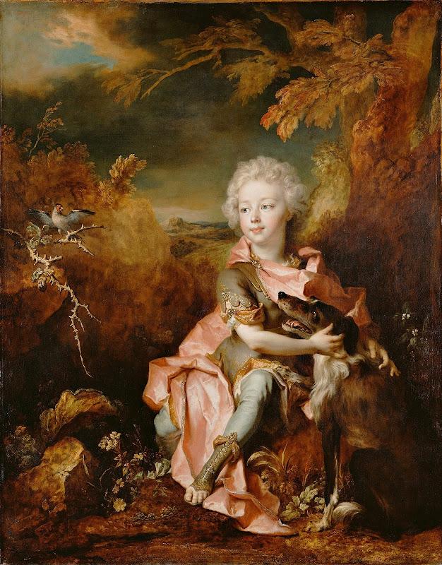 Nicolas de Largillierre - Portrait of a Boy in Fancy Dress