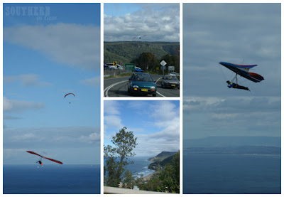 Watching the Hang Gliders in Stanwell Park