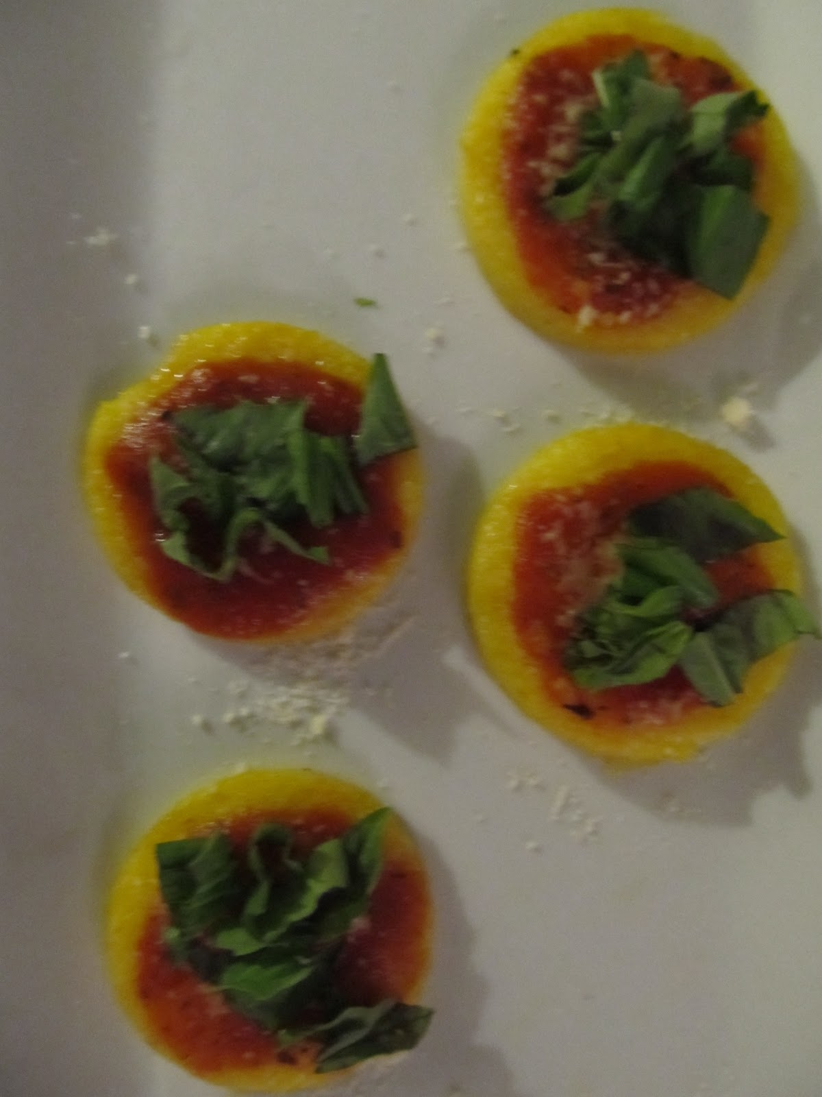 Grilled Polenta Cakes Recipes — Dishmaps
