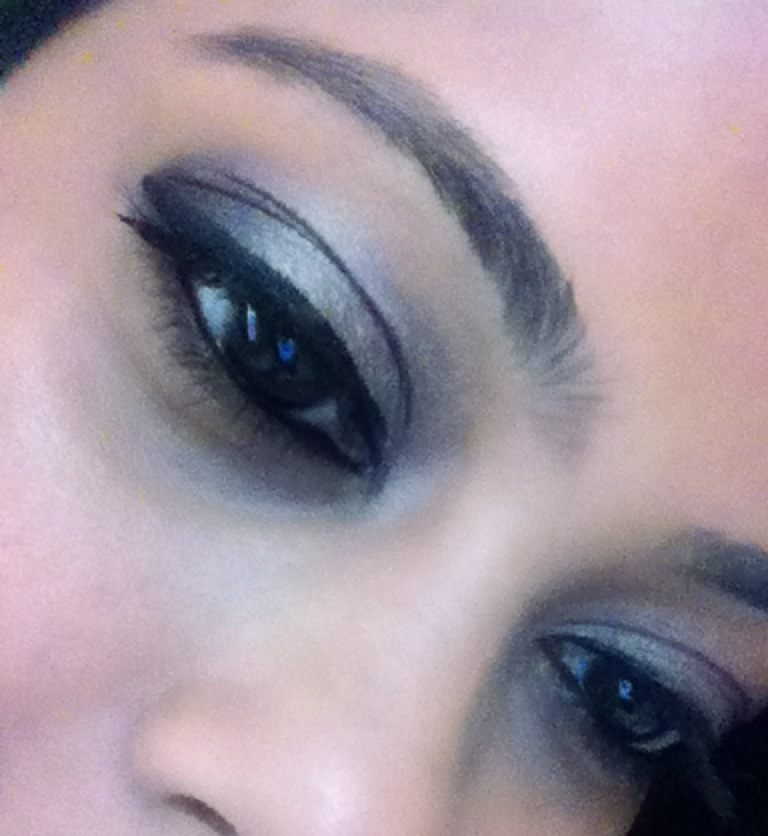 Simple And Easy Glam Eye Makeup Look Tutorial Pout Pretty
