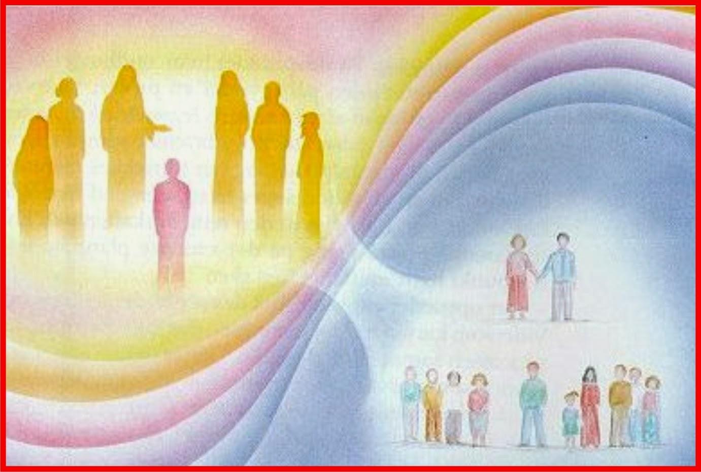 La transition est un passage vers une autre vie. Libérez les âmes défuntes. PLANEJAMENTO