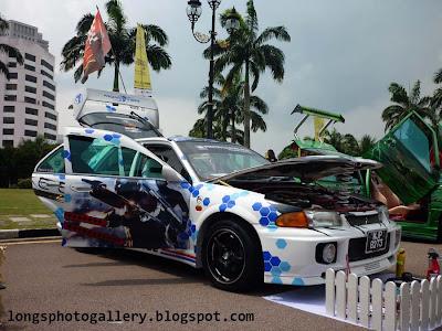 Wira Aeroback Evo 3 bodykit autoshow