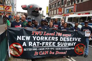 Ratas Nueva York Metro