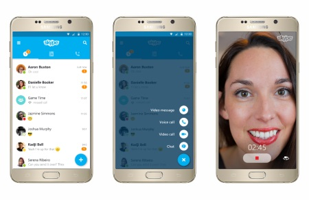 Microsoft redesigns Skype for Android and iOS with version 6.0
