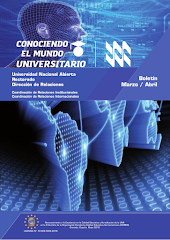 Publicación Digital Conociendo el Mundo Universitario Marzo - Abril  2018