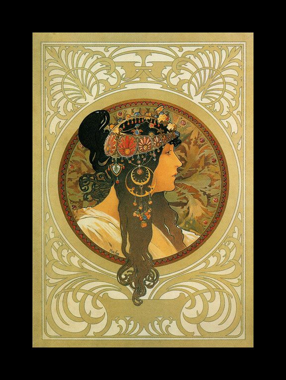 Paintings Alphonse Mucha Art Gallery Art Paintings
