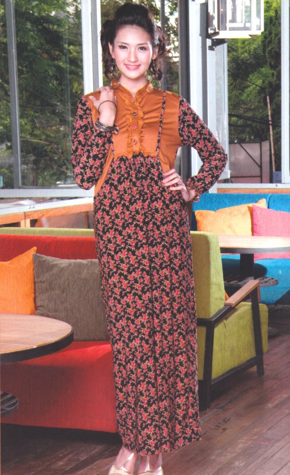 Fashion Baju 99 Baju Muslim Gamis Sst 062 Butik