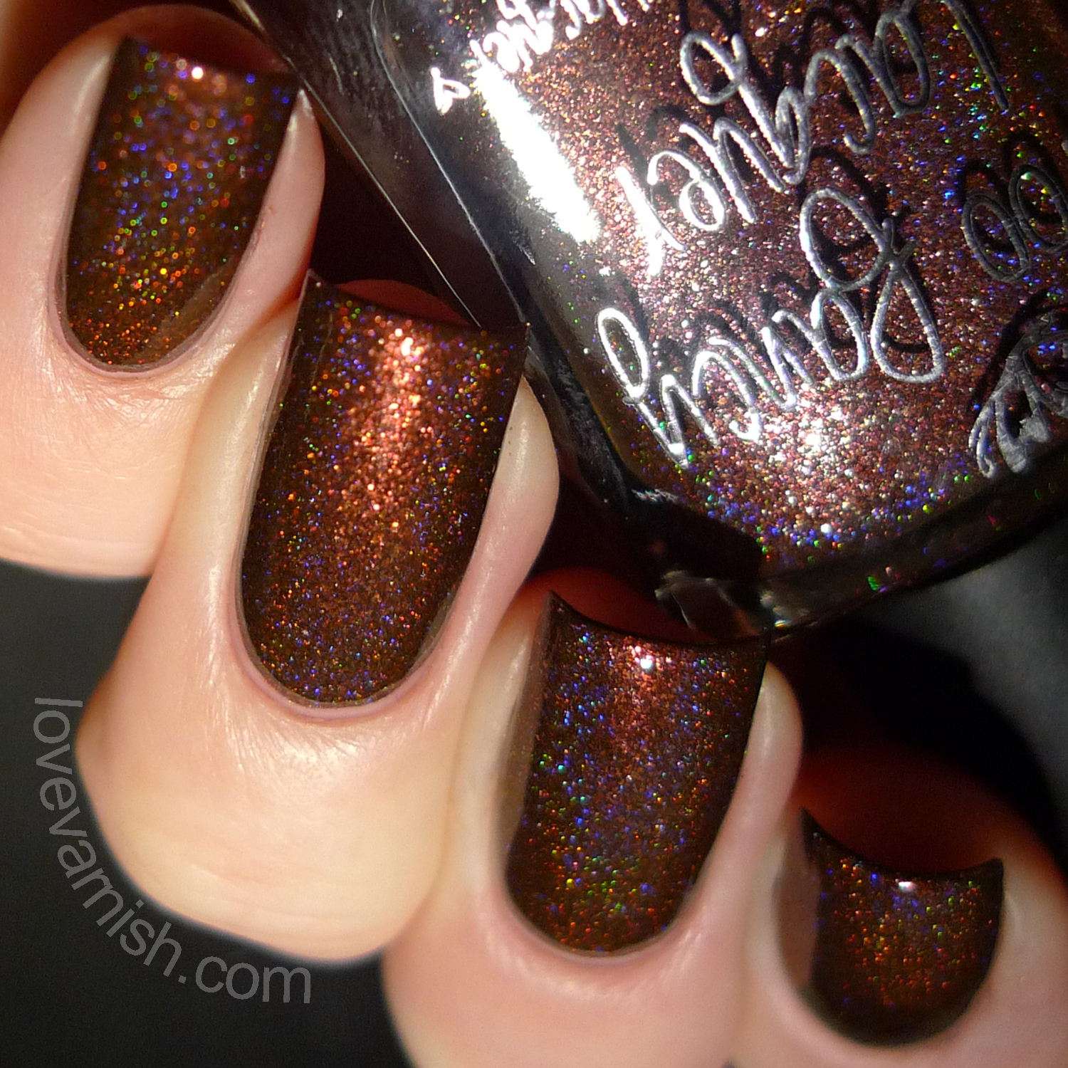 Too Fancy Lacquer Smoke and Ambers