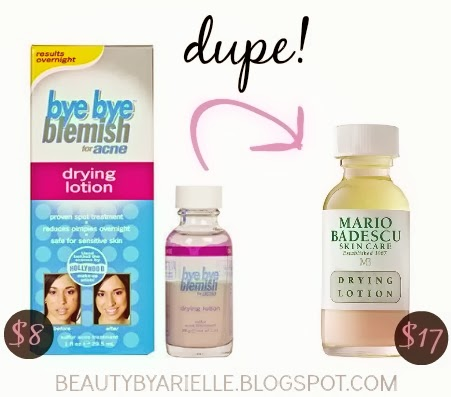 dupe for mario badescu drying lotion