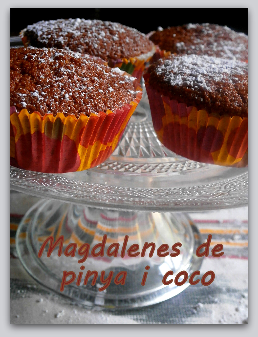 Magdalenas coco