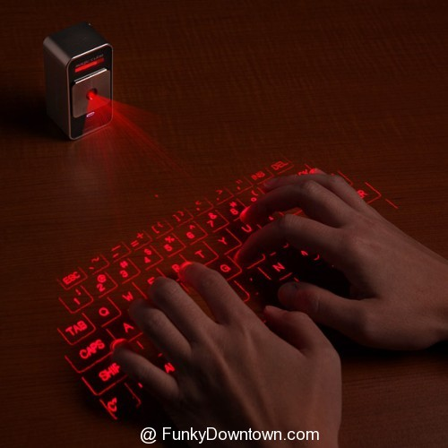 Updated Celluon virtual laser keyboard just 'clicks'