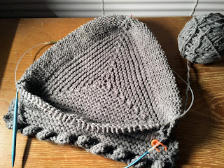 base of knitted pyramid
