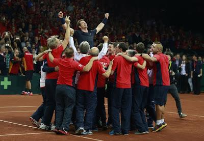 TENIS - Copa Davis 2015: Llegó la décima ensaladera británica 79 años después