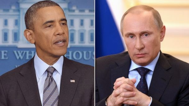 "Putin tells Obama that most recent approvals against Russia are ""Counterproductive"""