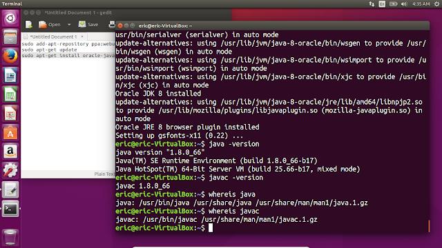 Install Oracle Java8 On Ubuntu 15.10 Via Ppa