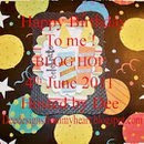 Happy Birthday to Me June 4th