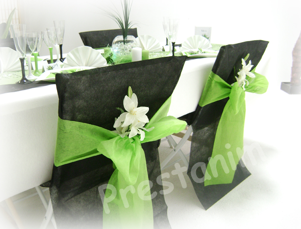 ma d coration de mariage d coration anniversaire noir blanc et anis. Black Bedroom Furniture Sets. Home Design Ideas