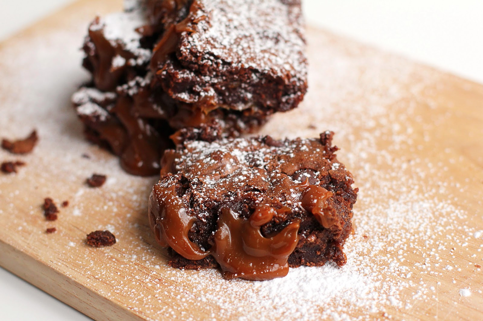 Dulce De Leche Brownies for #CincoDeMayo - Grandbaby Cakes