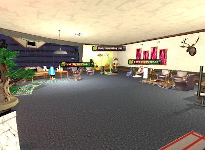Entropia Universe - Beauty Parlor Apartment Version