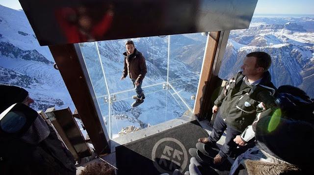 Chamonix Skywalk: dando un paso al vacío en los Alpes franceses