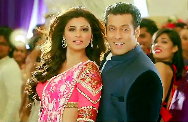 Daisy Shah with Salman Khan