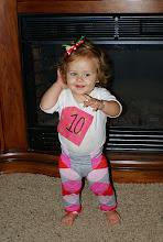 Elle Belle 10 months