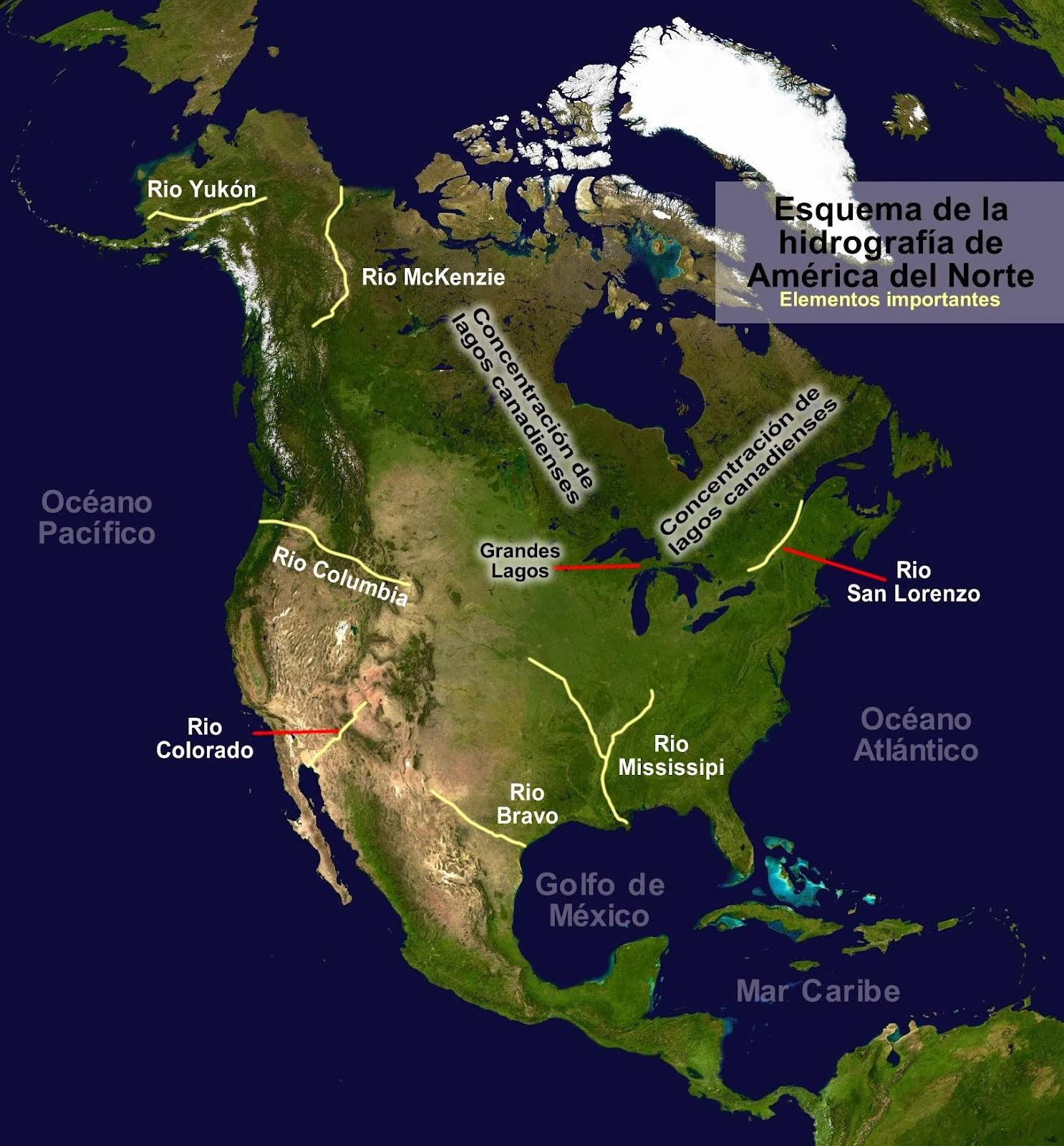 GEOamrica Geografa americana  EDUpuntocom