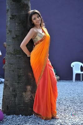 Kajal Agarwal Hot Back Show In Nayak Kajal agarwal s...