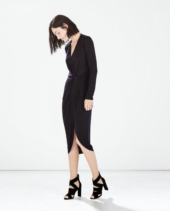 Zara Knotted Long Dress