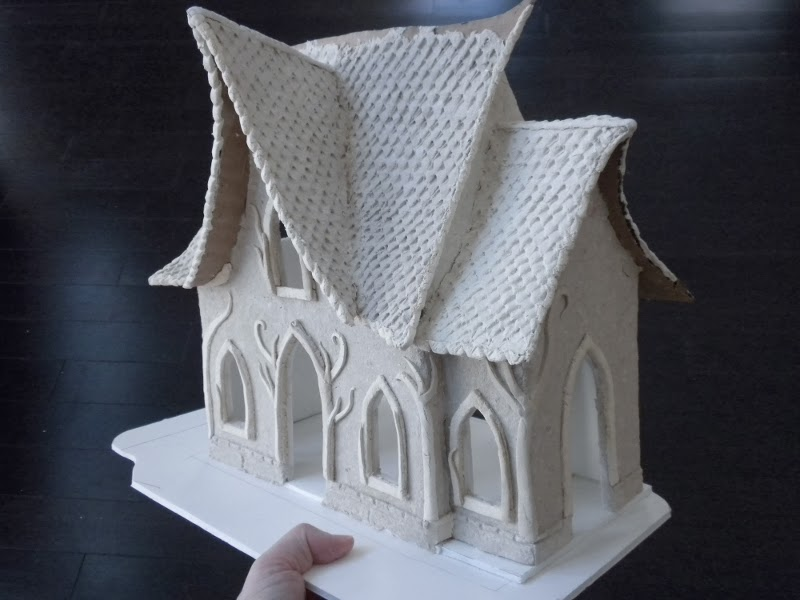Foam Board Mini Houses : Minifanaticus new years project the elven house