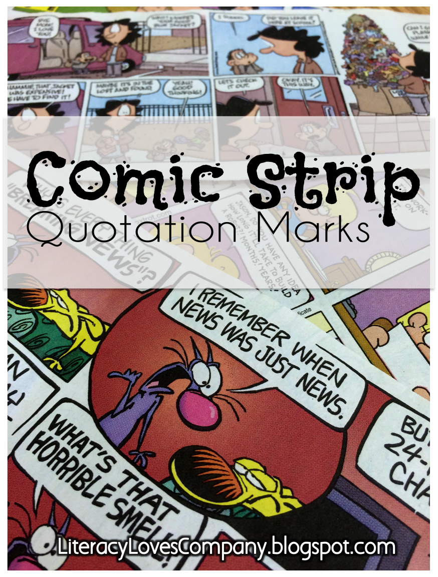 My students had so much fun with this Comic Strip Quotation Marks lesson!  This would be great for any 3rd - 5th ELA grade classroom.