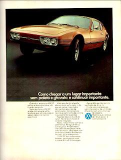 propaganda VW SP - 1973