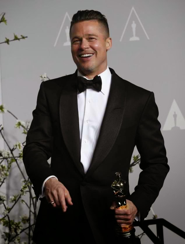 Chatter Busy: Brad Pitt On Morning Of First Academy Award ... брэд питт оскар