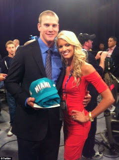 Ryan Tannehills Wife NFL Draft